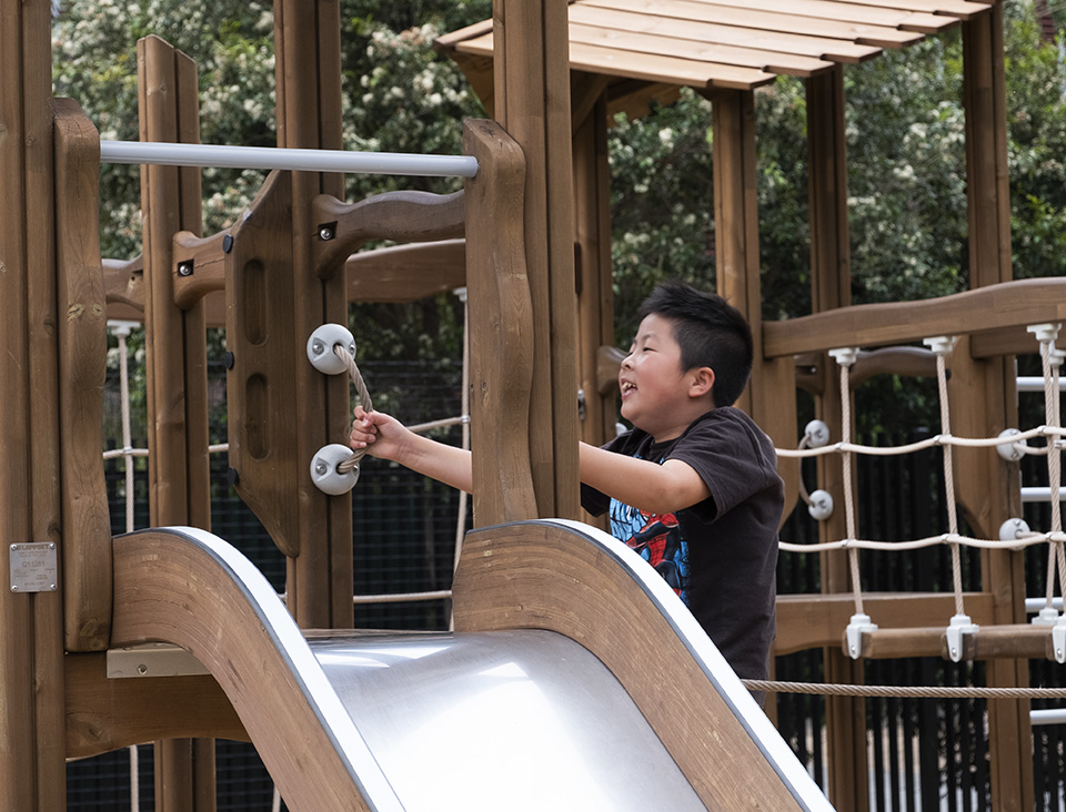 Children's Playground and Water Play Area